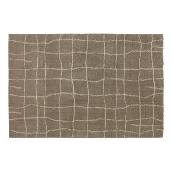 5'x7' Crossed Lines Area Rug