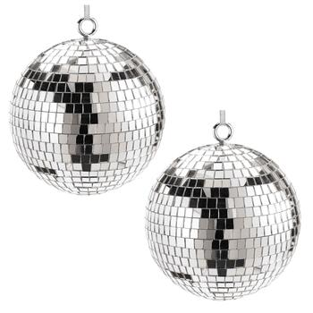 Silver Mini Disco Ball Ornament
