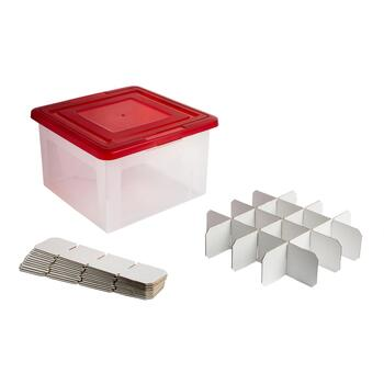 48-Ornament Ornament Storage Box