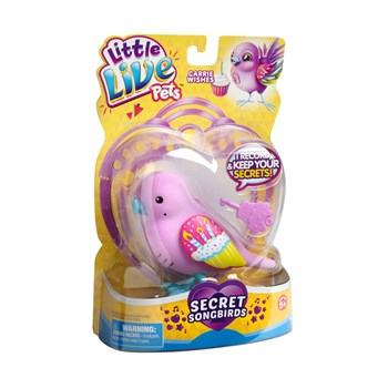 Little Live Pets™ Secret Songbirds Carrie Wishes Toy view 1