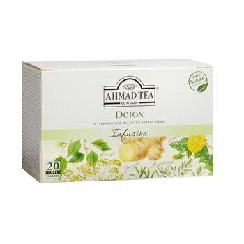 Ahmad Tea® Detox Infusion Herbal Tea, 6 Boxes