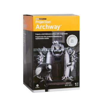 LED Lightshow® Projection™ Archway™ Stake and Slides Set view 2