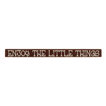 "18"" ""Enjoy the Little Things"" Wood Sign view 1"