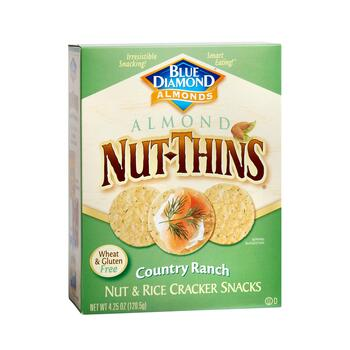 Blue Diamond® Country Ranch Almond Nut-Thins® Crackers, 12 Boxes