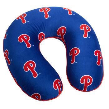 MLB Philadelphia Phillies Memory Foam Neck Pillow view 1