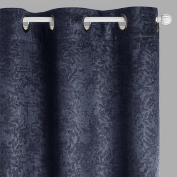 "84"" Vienna Room Darkening Grommet Window Curtains, Set of 2"