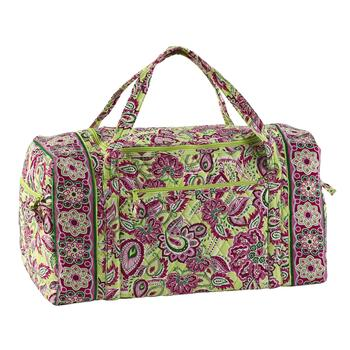 Patterned Quilted Duffle