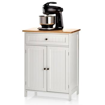Kitchen Island and Stand Mixer