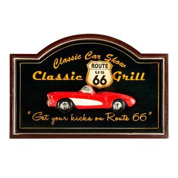 "15""x23.5"" ""Classic Car Show"" Hanging Wall Decor"