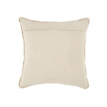 """Gather"" Tan Embellished Square Throw Pillow view 2"