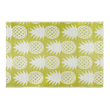 Patio Mat Pineapple 4x6 B view 1