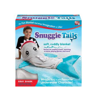 As Seen on TV Blue Fin Shark Snuggie® Tails™
