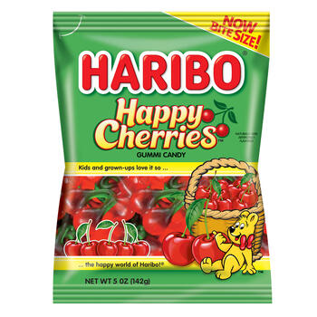 Haribo® Happy Cherries 5 Ounce Gummi Candy view 1