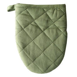 Green Silicone Mini Ovent Mitt view 1