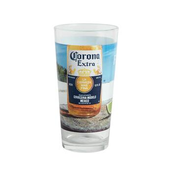 """Find Your Beach"" Corona® Pint Glasses, Set of 4 view 2"