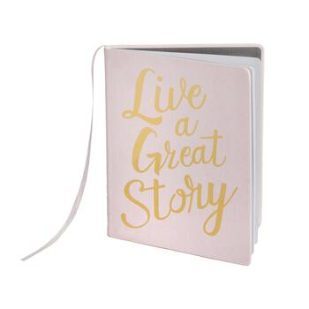 "The Grainhouse™ ""Live a Great Story"" Hardcover Bound Notebook"
