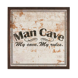"30"" ""My Cave, My Rules"" Wall Decor view 1"