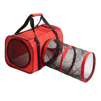 Pet Carrier with Tunnel Attachment view 1