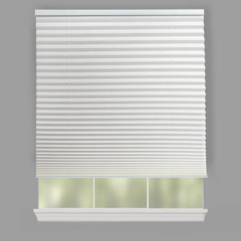 "72"" Pleated Cordless Window Shade"