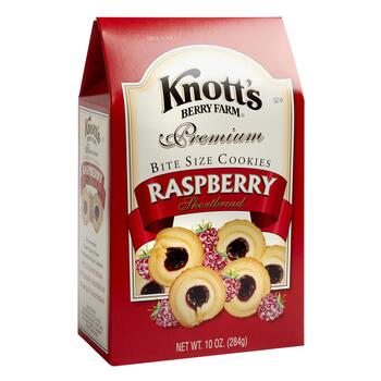 Knott S Berry Farm Raspberry Shortbread Cookies 12 Boxes Christmas Tree Shops And That Home Decor Furniture Gifts Store