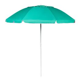 7' Turquoise Tilt Beach Umbrella