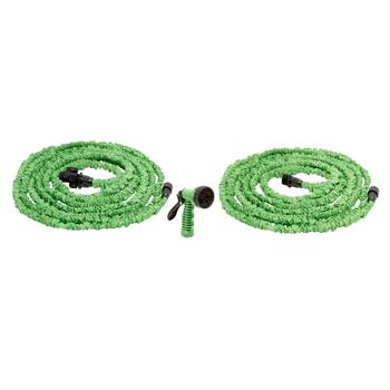 50' Flexible Hose with Sprayer, 2-Pack