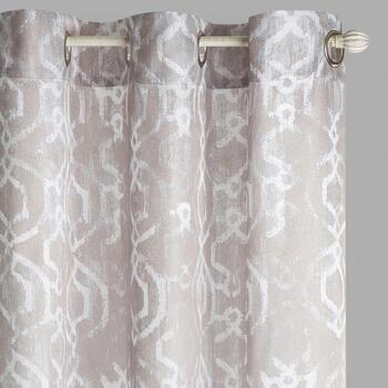 "84"" Crawford Malone Grommet Window Curtains, Set of 2"