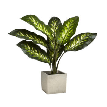 "21"" Artificial Pointy Leaf Plant in Pot view 1"