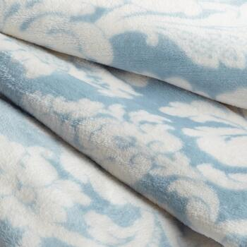 Patterned Plush Throw Blanket view 2