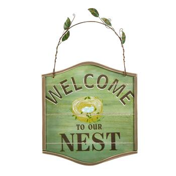 """Welcome to Our Nest"" Sign"