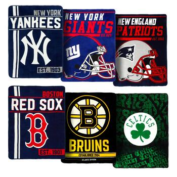 Logo Sports Team Throw Blanket Collection