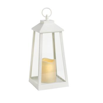 "12.5"" Lighthouse LED Candle Lantern"