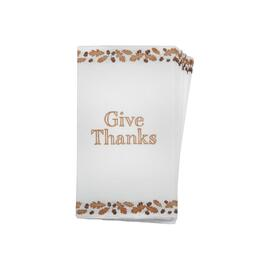 """Give Thanks"" Buffet Napkins, Set of 48"