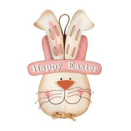 "23"" ""Happy Easter"" Bunny Wood Wall Hanger view 1"