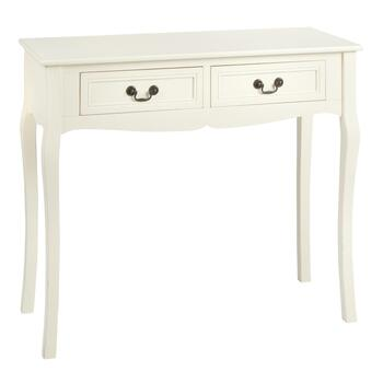 Curvy Leg 2-Drawer Console Table