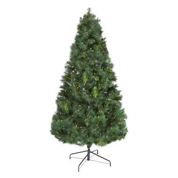 6.5' Pre-Lit Scotch Pine Artificial Christmas Tree - Christmas Tree ...
