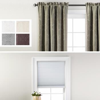 Katerina Curtains & Blackout Cordless Cellular Shades