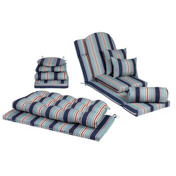 Alfresco™ Blue Striped Indoor/Outdoor Cushions