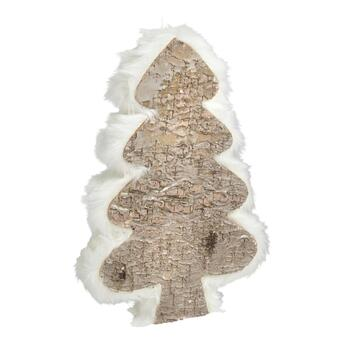 "11"" Fur Birch Tree Decor"