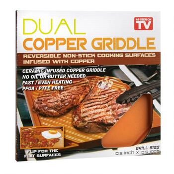 As Seen on TV Dual Copper Griddle view 2