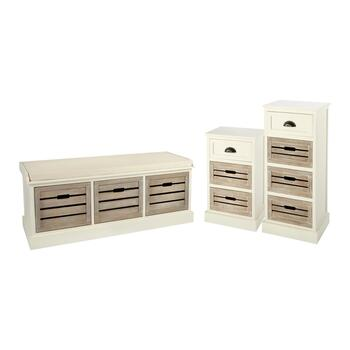 Alden Ivory Washed Wood Furniture Collection
