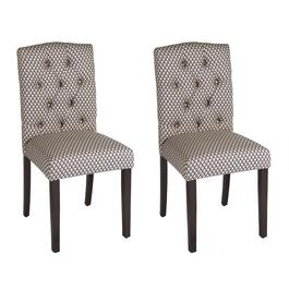 Calais Tufted Upholstered Chairs, Set of 2