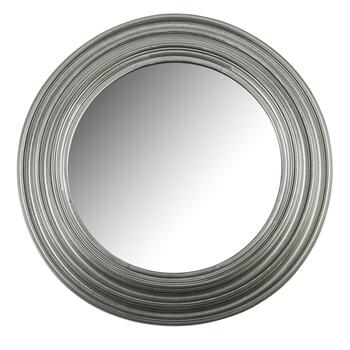 "20"" Round Ringed Frame Wall Mirror"