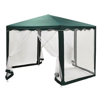 Netted Hexagon Gazebo