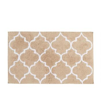"Mohawk Home 20""x32"" Lattice Cotton Bath Mat"