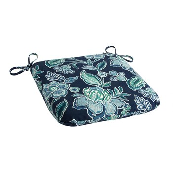 Bombay Floral Seat Pads, Set of 2