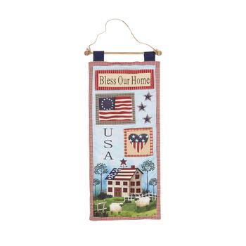 """Bless Our Home"" Welcome Banner"