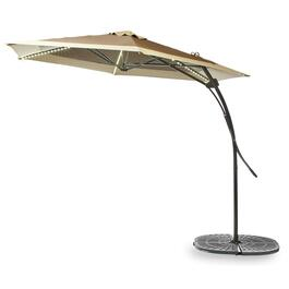 10' Offset LED Patio Umbrella