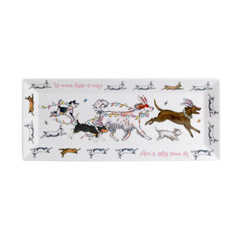 Easter Dogs & Bunnies Melamine Trays, Set of 2 view 2