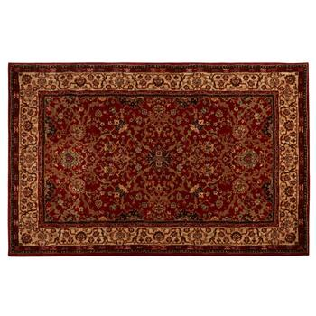 5'x8' Mohawk Home Red Traditional Area Rug